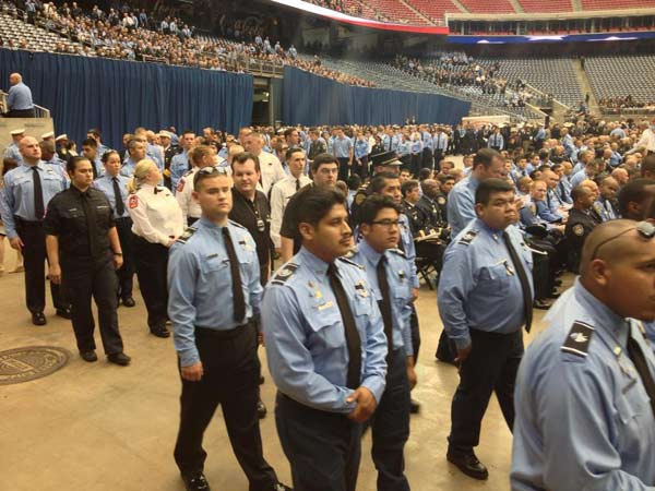 "<div class=""meta image-caption""><div class=""origin-logo origin-image ""><span></span></div><span class=""caption-text"">A photo from inside Reliant Stadium, as firefighters arrive this morning for the firefighter memorial service (ABC13/Mario Segura)</span></div>"