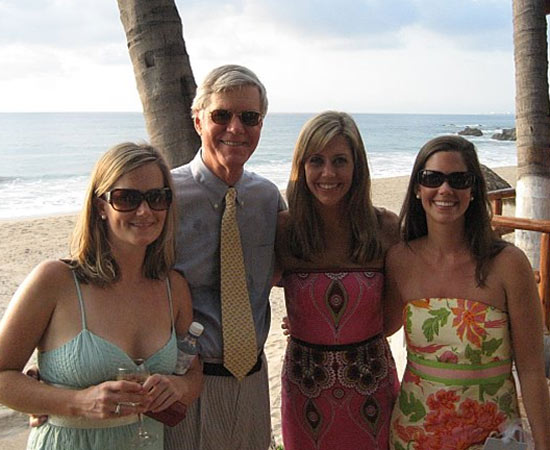 ABC-13 reporter Katie McCall, her siblings with their dad <span class=meta>(Katie McCall)</span>