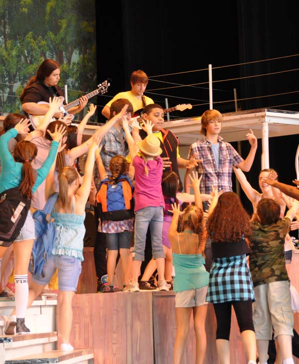 "<div class=""meta ""><span class=""caption-text "">Many came out to the Miller Outdoor Theatre Wednesday to catch a free performance by the Theatre Under The Stars' Humphreys School of Musical Theatre of Disney's Camp Rock The Musical (KTRK/Blanca Beltran)</span></div>"