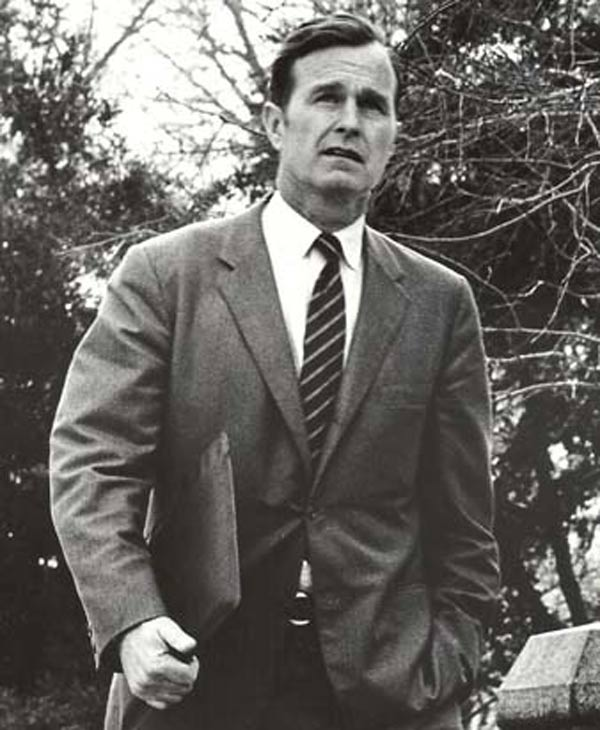 Former President George H.W. Bush as a congressman (1966-71) ( Photo / KTRK political consultant Peter Roussel)