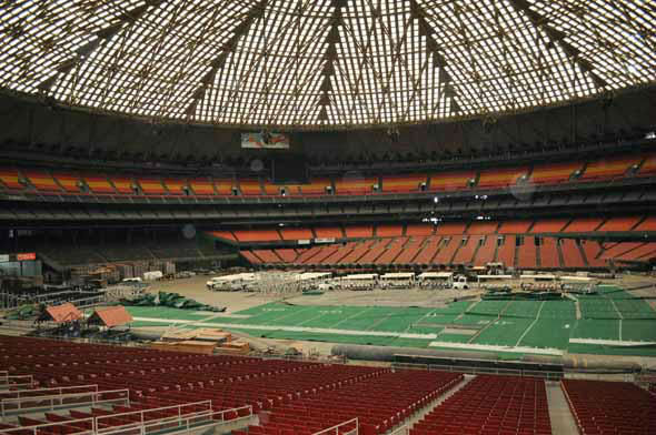 The Astrodome is among the National Trust for Historic Preservation's list of most endangered places in the United States.