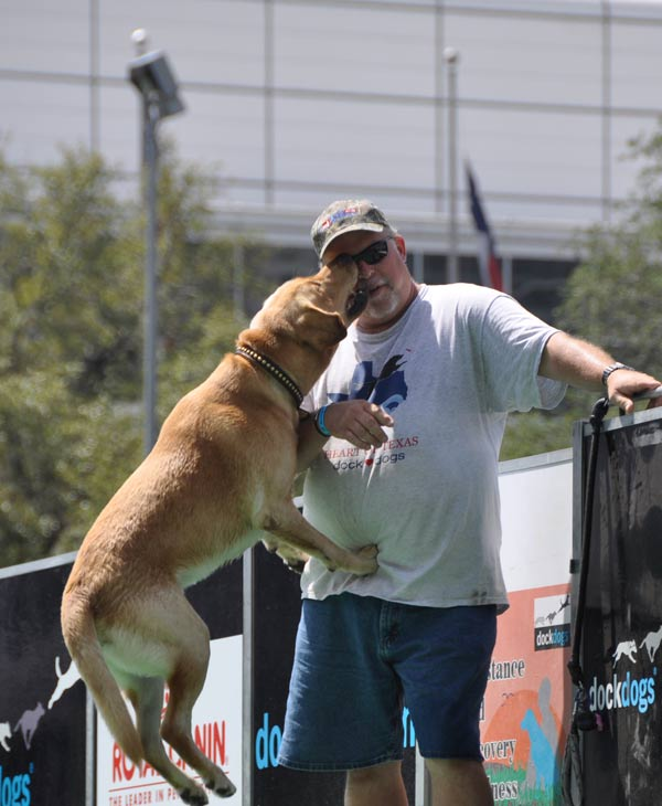 Many came out to check out the national tour dog jumping competition held at Discovery Green over the weekend.    <span class=meta>(KTRK&#47;Blanca Beltran)</span>