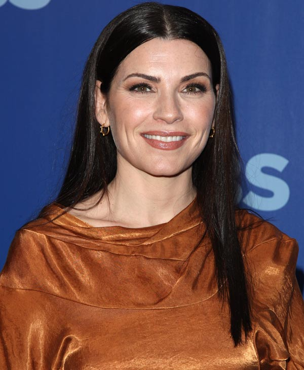 "In this May 19, 2010 file photo, actress Julianna Margulies attends the CBS Upfront presentation in New York. Margulies was nominated for an Emmy award on Thursday, July 8, 2010, for best actress in a drama series for her role in ""The Good Wife."" The 62nd Primetime Emmy Awards will be held on Sunday, Aug. 29. (AP Photo/Peter Kramer, file)"