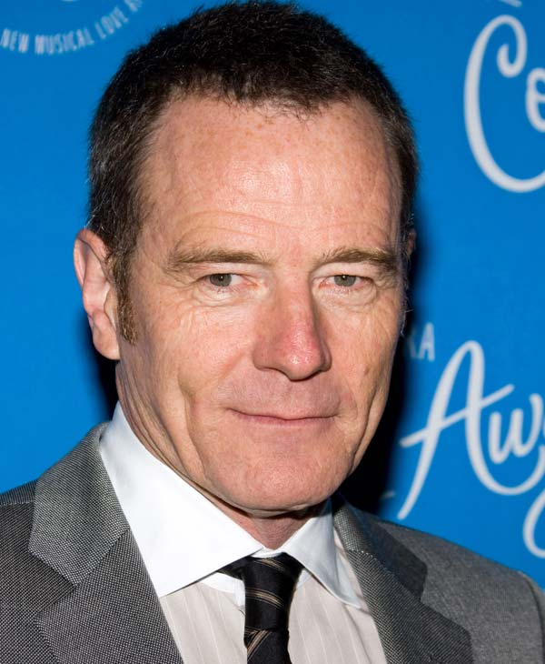 "In this March 25, 2010 file photo, actor Bryan Cranston arrives at the opening night performance of the Broadway musical ""Come Fly Away"" in New York. Cranston was nominated for an Emmy for best actor in a drama series on Thursday, July 8, 2010 for his role in ""Breaking Bad."" The 62nd Primetime Emmy Awards will be held on Sunday, Aug. 29, in Los Angeles. (AP Photo/Charles Sykes, file)"