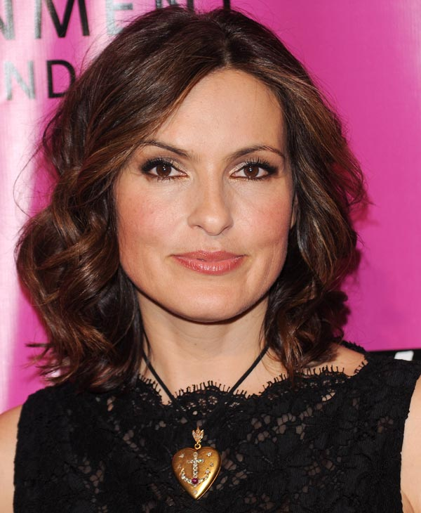 "In this May 5, 2010 file photo, actress Mariska Hargitay attends the Joyful Heart Foundation Gala recognizing the 15th Anniversary of the Violence Against Women Act in New York. Hargitay was nominated for an Emmy on Thursday, July 8, 2010 for best actress in a drama series for her role in ""Law & Order: Special Victims Unit."" The 62nd Primetime Emmy Awards will be held on Sunday, Aug. 29, in Los Angeles. (AP Photo/Evan Agostini, file)"