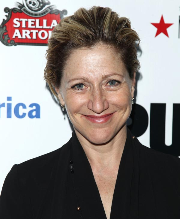 "In this June 21, 2010 file photo, actress Edie Falco attends the Public Theater Annual Gala featuring a performance of ""The Merchant of Venice"" in New York. Falco was nominated for an Emmy for best actress in a comedy series on Thursday, July 8, 2010 for her role in ""Nurse Jackie."" The 62nd Primetime Emmy Awards will be held on Sunday, Aug. 29, in Los Angeles. (AP Photo/Peter Kramer, file)"