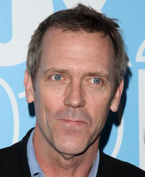 "In this May 17, 2010 file photo, actor Hugh Laurie attends the FOX Upfront presentation in New York. Laurie was nominated for an Emmy for best actor in a drama series on Thursday, July 8, 2010 for his role in ""House."" The 62nd Primetime Emmy Awards will be held on Sunday, Aug. 29, in Los Angeles. (AP Photo/Peter Kramer, file)"