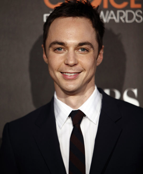 "In this Jan. 6, 2010 file photo, actor Jim Parsons arrives at the People's Choice Awards in Los Angeles. Parsons was nominated for an Emmy award for best actor in a comedy series on Thursday, July 8, 2010 for his role in ""The Big Bang Theory."" The 62nd Primetime Emmy Awards will be held on Sunday, Aug. 29, in Los Angeles. (AP Photo/Matt Sayles, file)"