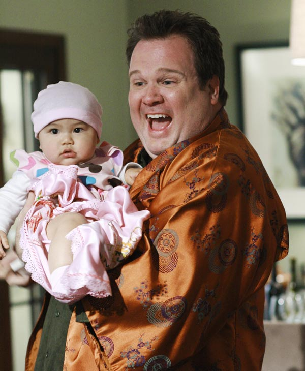 "In this image released by ABC, Eric Stonestreet is shown in a scene from, ""Modern Family."" The program was nominated, Thursday, July 7, 2010, for an Emmy Award for best comedy series. The 62nd Primetime Emmy Awards will be held on Sunday, Aug. 29. (AP Photo/ABC, Ron Tom, file)"