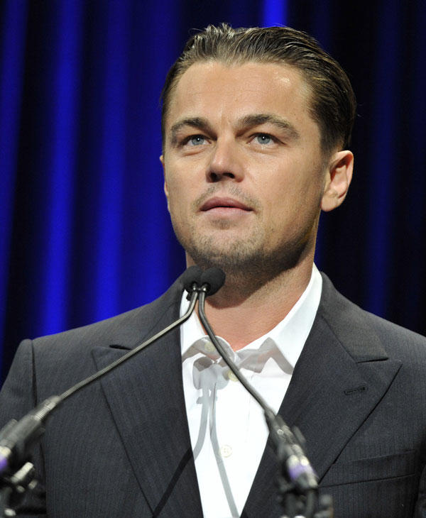 No.1:  According to Forbes.com, Leonardo DiCaprio earned $77 million between May 2010 and May 2011   [Check Forbes.com for the full list]