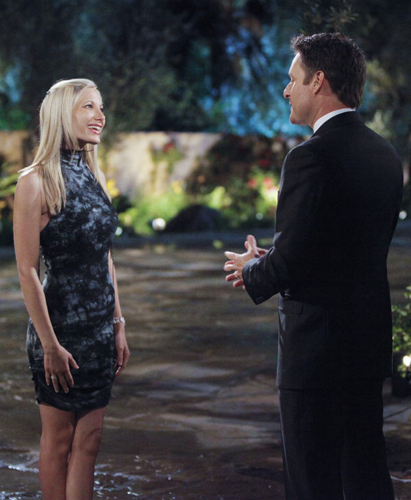 "Hosted by Chris Harrison (""The Bachelor,"" ""The Bachelorette""), ""Bachelor Pad"" returns MONDAY, AUGUST 8 (8:00-11:00 p.m., ET) with its most controversial cast to date, as 18 unforgettable characters from the ""Bachelor"" franchise - those we love and those we love to hate -- gather back at the mansion to live together and compete for $250,000 and possibly a second chance at love. The drama begins as the contestants move into the ""Bachelor"" mansion to meet their fellow competitors on a night where Jake Pavelka and Vienna Girardi will come face to face for the first time since their unforgettable primetime showdown. In their first challenge, the ""Hook Up,"" the men and women will pair off into couples clinging to each other 10-feet high. The couple who can hang on to each other the longest will win the challenge and be saved from elimination. At the end of the episode, one man and one woman will be voted off. (ABC/GREG ZABILSKI) ERICA ROSE, CHRIS HARRISON"