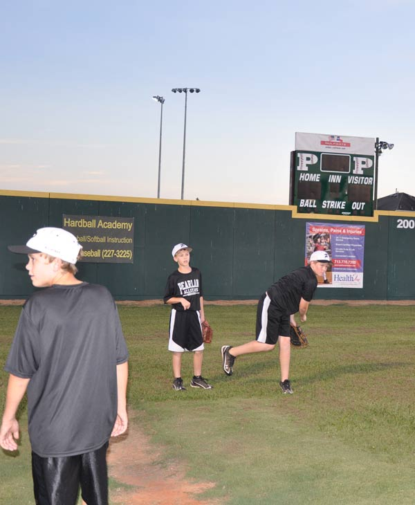 Images from the Dad's Club where the Pearland All-Star team plays their games