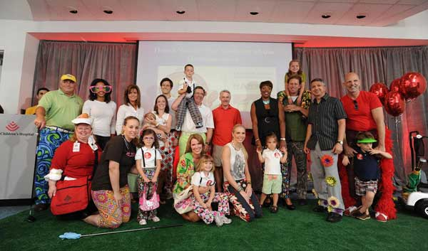 KTRK Anchor Tom Koch and Meteorologist Casey Curry participated in the Bad Pants Open Fashion Show, the kickoff for the annual Bad Pants Open Golf Tournament in October that benefits the Newborn Center at Texas Children's Hospital.