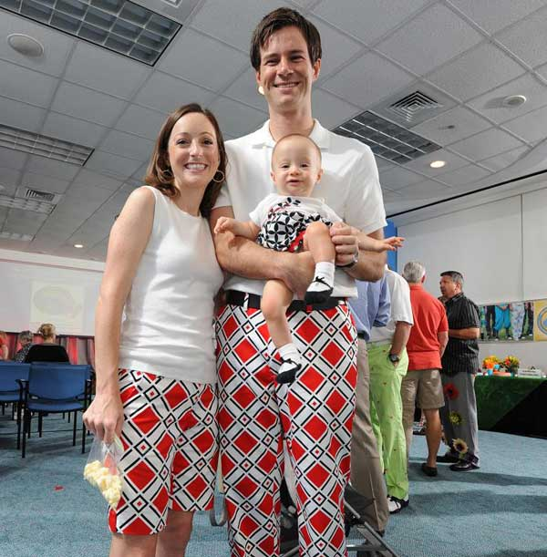 "<div class=""meta image-caption""><div class=""origin-logo origin-image ""><span></span></div><span class=""caption-text"">KTRK Anchor Tom Koch and Meteorologist Casey Curry participated in the Bad Pants Open Fashion Show, the kickoff for the annual Bad Pants Open Golf Tournament in October that benefits the Newborn Center at Texas Children's Hospital.</span></div>"