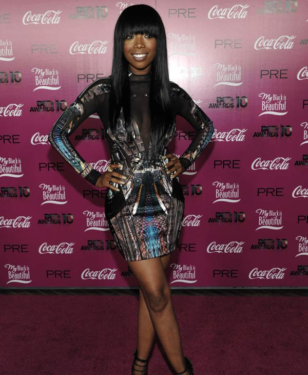 "Singer and actress Brandy arrives at the ""PRE"" BET Awards 2010 Party in Los Angeles on Saturday, June 26, 2010. (AP Photo/Dan Steinberg)"