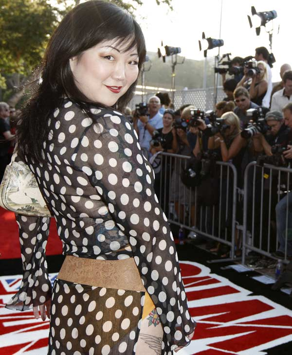"<div class=""meta image-caption""><div class=""origin-logo origin-image ""><span></span></div><span class=""caption-text"">Margaret Cho arrives at the VH1 Rock Honors ""The Who"" on Saturday July 12, 2008 in Los Angeles. (AP Photo/Chris Pizzello)</span></div>"