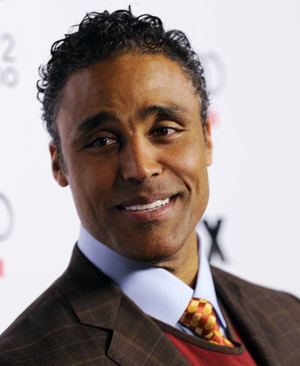 "Rick Fox arrives at the season two premiere screening of the FX show ""Dirt"" in Los Angeles, Thursday, Feb. 28, 2008. (AP Photo/Chris Pizzello)"