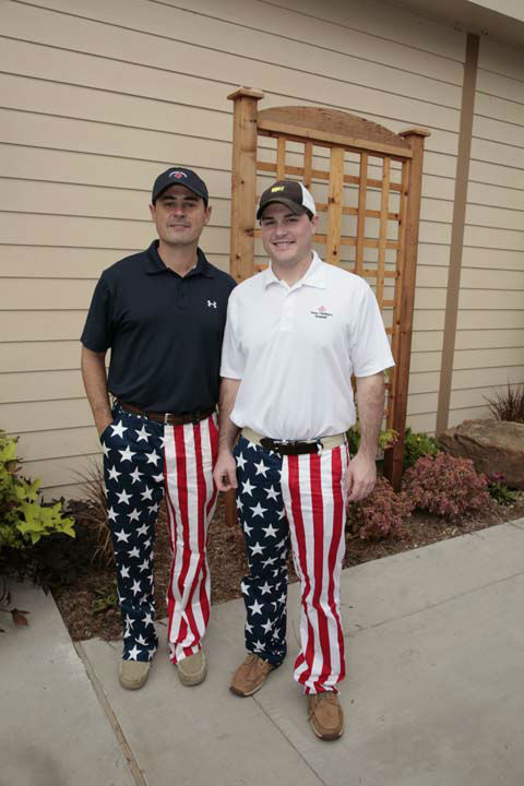 "<div class=""meta ""><span class=""caption-text "">More than 350 golfers wore their funkiest, wackiest pants to take part of 15th annual Bad Pants Open Golf Tournament on Wednesday, Oct. 10 at the Clubs of Kingwood. </span></div>"