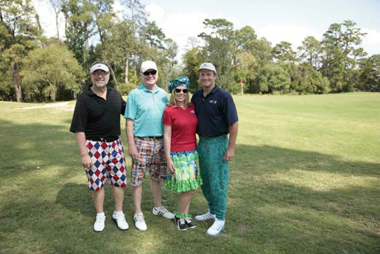 More than 350 golfers wore their funkiest, wackiest pants to take part of 15th annual Bad Pants Open Golf Tournament on Wednesday, Oct. 10 at the Clubs of Kingwood.  The tournament benefits the Texas Children&#39;s Newborn Center. <span class=meta>(Casey Curry)</span>