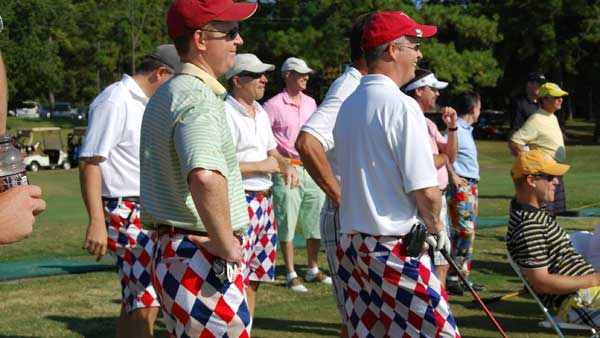 "<div class=""meta ""><span class=""caption-text "">Hundreds of golfers took over the golf course in Kingwood wearing their colorful and wackiest pants for the 13th annual Bad Pants Open Golf Tournament. The tournament benefits the Texas Children's Newborn Center. (KTRK)</span></div>"