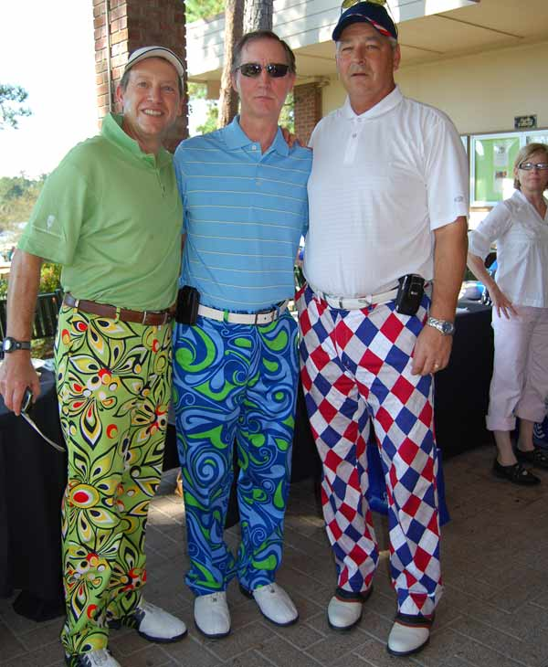 Hundreds of golfers took over the golf course in Kingwood wearing their colorful and wackiest pants for the 13th annual Bad Pants Open Golf Tournament. The tournament benefits the Texas Children&#39;s Newborn Center. <span class=meta>(KTRK)</span>