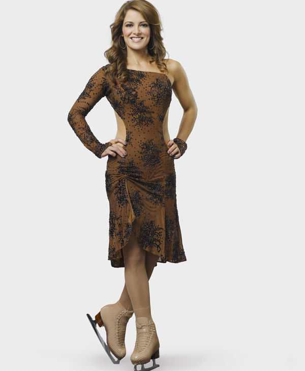 "Daytime Emmy Award nominee and fan favorite Rebecca Budig returned to the role of Greenlee Smythe in December 2009 on ""All My Children."" Budig has also made many guest appearances and served as co-host for ABC's ""The View."" Other credits include hosting for WE's ""Full Frontal Fashion,"" hosting for ABC Family's ""The Bachelor"" after-show round ups, as well as ABC's ""Hope & Faith."" Most recently Budig starred in ""The Perfect Child,"" ""The Beast,"" ""Out of Practice"" and ""CSI."" All six couples will take to the ice with their professional partners for the first time in front of a live audience on MONDAY, NOVEMBER 22 (9:00-11:00 p.m., ET), with couples performing high-paced ice dancing moves and dazzling figure skating routines. (ABC/BOB D'AMICO)"