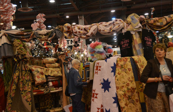 The annual Nutcracker Market features more than 300 national and international merchants carefully selected for their unique offerings selling gifts for the entire family -- home d&#233;cor, gourmet food, clothing, novelties, accessories and more.  Proceeds from the Market benefit Houston Ballet Foundation and its Academy and Scholarship Program.    <span class=meta>(Photo&#47;Blanca Beltran)</span>