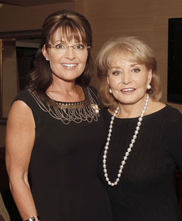 "<div class=""meta ""><span class=""caption-text "">Barbara Walters interviews former Alaska governor and Vice Presidential candidate Sarah Palin, for ""Barbara Walters Presents: The 10 Most Fascinating People of 2010,"" an hour-long ABC News special highlighting some of the year's most prominent names in entertainment, sports, politics and pop-culture airing THURSDAY, DEC. 9 (9-10pm CT) on the ABC Television Network. Now in its 18th season, ""Barbara Walters Presents: The 10 Most Fascinating People"" has consistently been one of the highest rated specials of the year. (ABC/Lou Rocco) </span></div>"