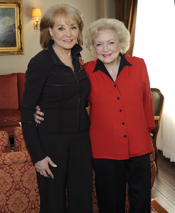 "Betty White will be featured in ""Barbara Walters Presents: The 10 Most Fascinating People of 2010,"" an hour-long ABC News special highlighting some of the year's most prominent names in entertainment, sports, politics and pop-culture airing THURSDAY, DEC. 9-10 pm, CT) on the ABC Television Network. Now in its 18th season, ""Barbara Walters Presents: The 10 Most Fascinating People"" has consistently been one of the highest rated specials of the year. (ABC/ DONNA SVENNEVIK)"
