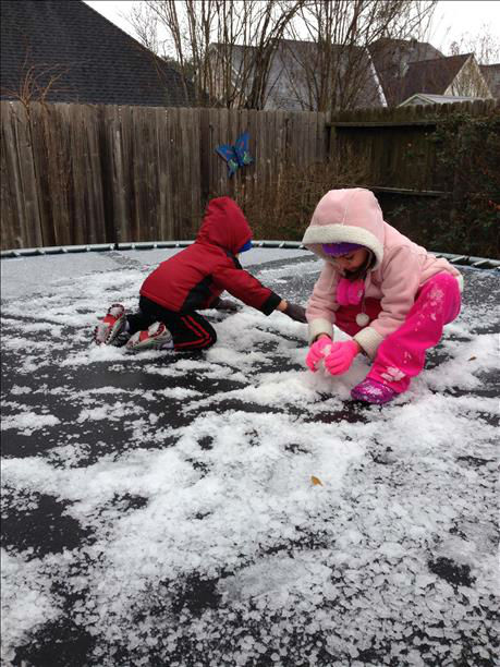 These are photos you've been sending in of the winter weather that has moved into our area on Tuesday, January 28, 2014.  If you have photos or video, send it to us at news@abc13.com.
