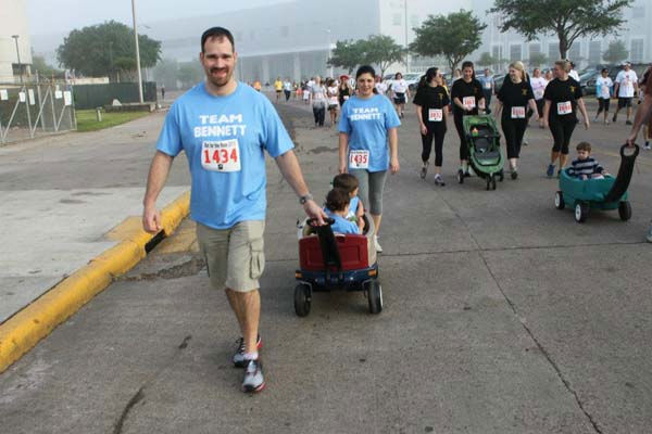 Images from the 10th Annual Run for the Rose held at Reliant Stadium on Sunday. If you were there and took photos, email them to us at news@abc13.com or upload them here. <span class=meta>(Photo&#47;iWitness reports)</span>