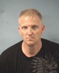 "<div class=""meta ""><span class=""caption-text "">Brian Allen Buck, Jr., 36, of Alvin, was charged with Unlawful Possession of a Firearm by a Felon (Photo/Friendswood Police Department)</span></div>"