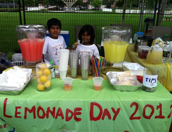 Lemonade Day doesn't last just a day. It's a month-long process that requires youngsters to set goals, develop a business plan, establish a budget, seek investors, provide customer service, save for the future and give back to the community. Stands can be found in Harris, Galveston, Montgomery, Fort Bend, Chambers and Brazoria Counties today. For a map of lemonade stand locations near you, visit houston.lemonadeday.org.