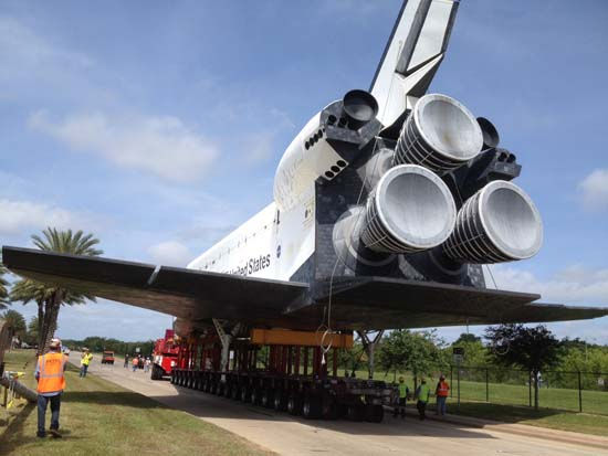 These are photos you&#39;ve been sending in from the shuttle&#39;s move from Florida to Space Center Houston. If you captured photos or videos of the move, email them to us at news@abc13.com <span class=meta>(Photo&#47;iWitness Reports)</span>