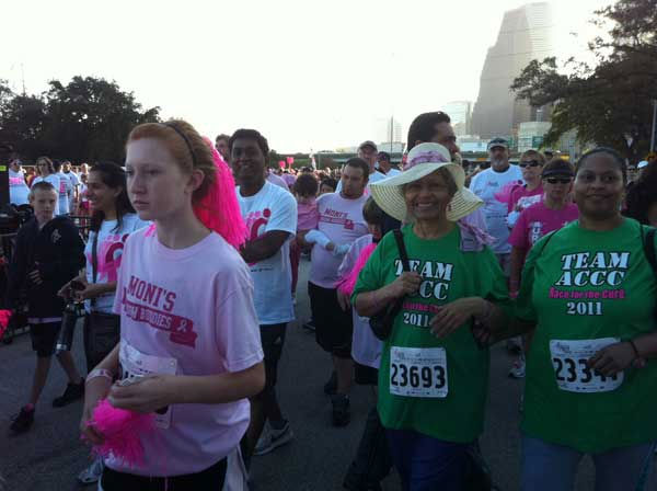 Photos from reporter Samica Knight, who was covering the Race for the Cure for Eyewitness News <span class=meta>(Photo&#47;Samica Knight)</span>