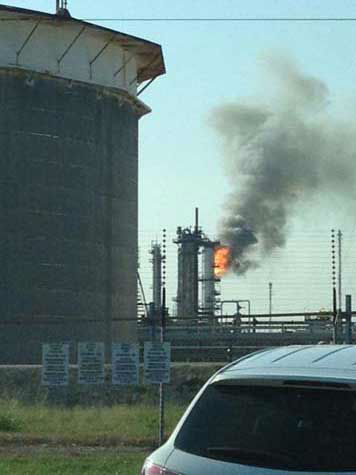 "<div class=""meta image-caption""><div class=""origin-logo origin-image ""><span></span></div><span class=""caption-text"">These are photos from viewers of the fire at the Exxon plant in Baytown on Wednesday, October 3, 2012. (Photo/iWitness Reports)</span></div>"