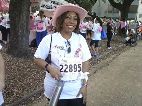 These are some of the photos you&#39;ve been sending in from the Race for the Cure, held Saturday, October 6, in downtown Houston.  More pictures are here.  Send your photos to news@abc13.com and we&#39;ll post them online <span class=meta>(Photo&#47;iWitness Reports)</span>