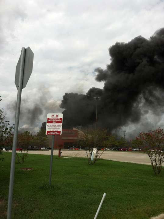 "<div class=""meta ""><span class=""caption-text "">Viewer photos from the fire in Montgomery County. Send your photos or videos to news@abc13.com</span></div>"