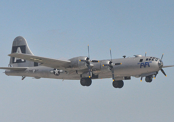 "<div class=""meta ""><span class=""caption-text "">Aircraft from different eras filled the skies over Ellington for the Wings over Houston Air Show, October 15-16, 2011.  These are some of the images from the show.  If you shot photos or videos, send them to us at news@abc13.com or upload them here.  The fire in this shot is part of a World War II re-enactment (Photo/ABC13 and iWitness Photos)</span></div>"