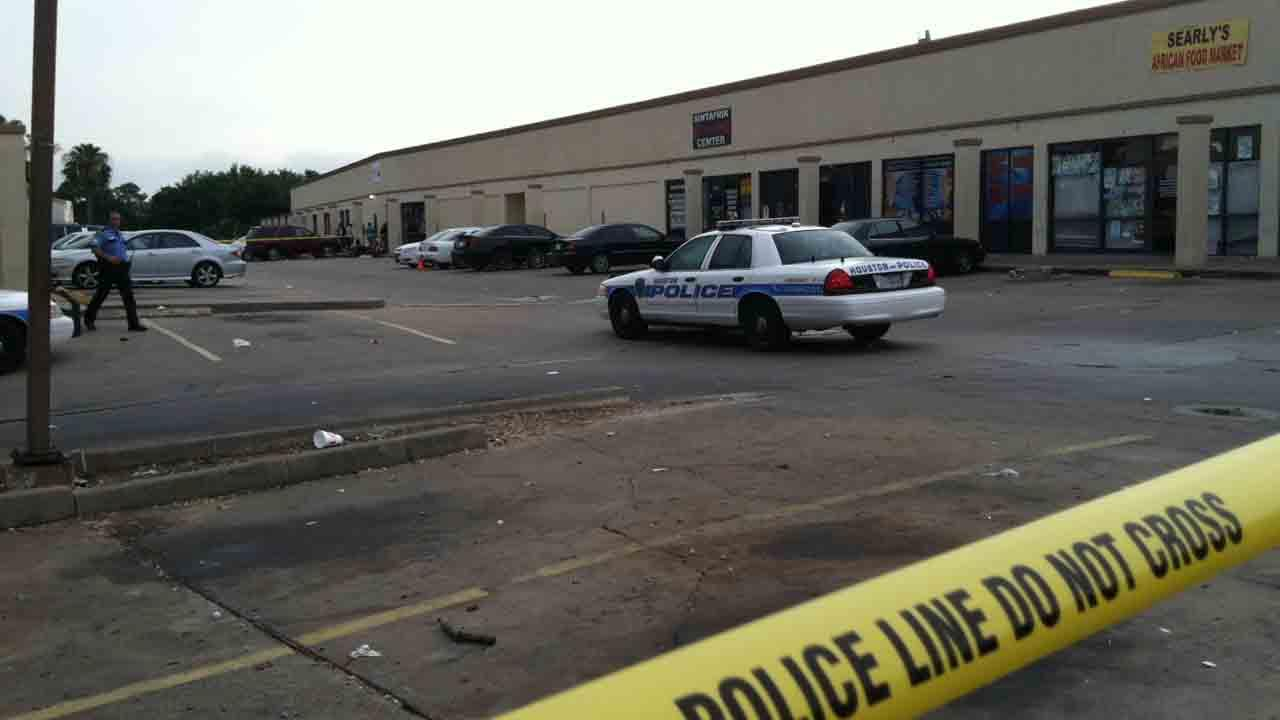 Police are investigating a quadruple shooting on Bissonnet in southwest Houston
