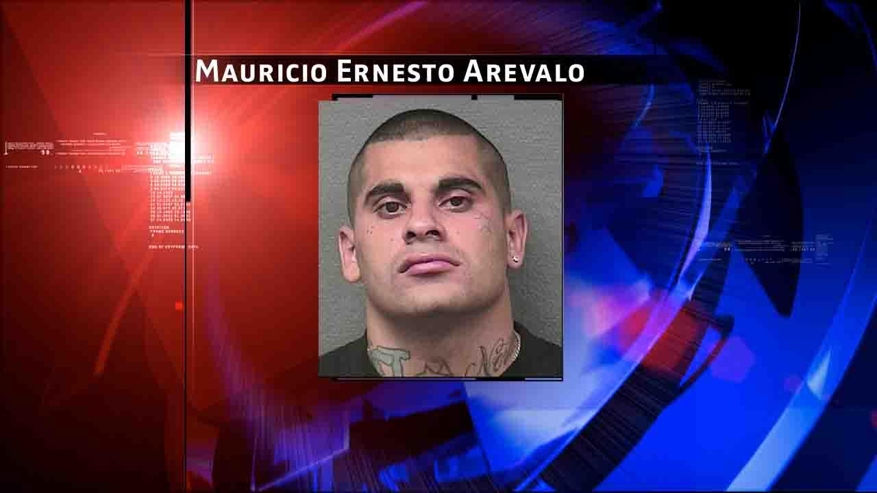 Mauricio Ernesto Arevalo is charged with murder. Anyone with information on Arevalos whereabouts is urged to contact the HPD Homicide Division at 713-308-3600 or Crime Stoppers at 713-222-TIPS.