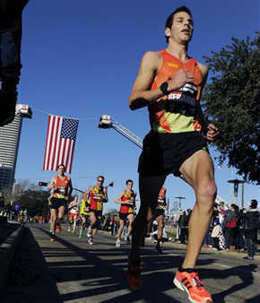 "<div class=""meta ""><span class=""caption-text "">Charlie Serrano competes in the U.S. Olympic men's marathon trials Saturday, Jan. 14, 2012, in Houston. (AP Photo/Pat Sullivan) (AP Photo/ Pat Sullivan)</span></div>"