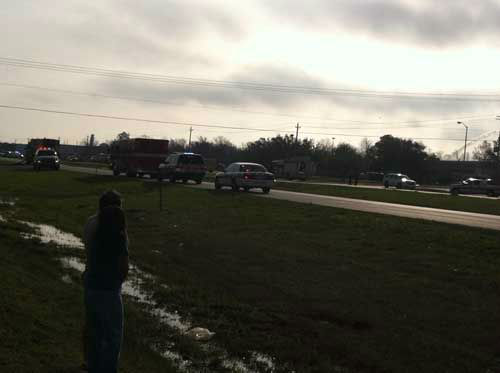 "<div class=""meta ""><span class=""caption-text "">An explosion Saturday morning at the Air Liquide facility in La Porte injured at least one person (KTRK Photo)</span></div>"