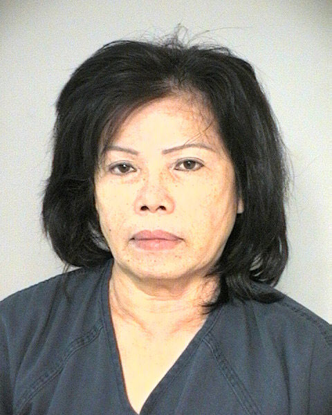 Ngoc Hong Mccubbins, 57, of Port Arthur, is charged with felony possession of marijuana after detectives found 481 marijuana plants in the Fort Bend County home she was renting.