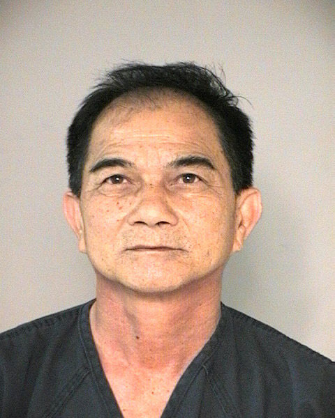 Hoi Van Tran, 53, of Port Arthur, is charged with felony possession of marijuana after detectives found 481 marijuana plants in the Fort Bend County home he was renting.