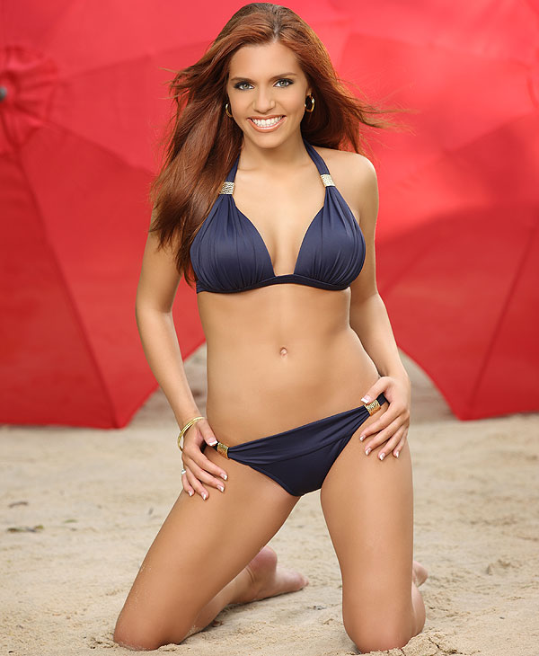 Image of cheerleader Whitney from the 2010 Houston Texans Cheerleaders Swimsuit Calendar. <span class=meta>(Houston Texans)</span>