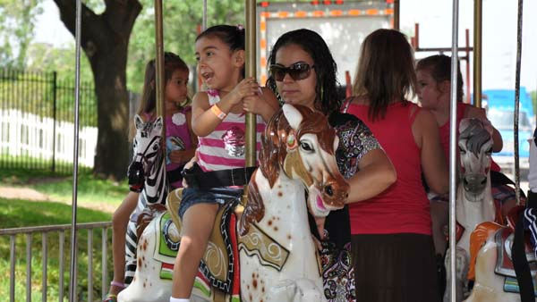 There&#39;s fun, games and entertainment for people of all ages at the nation&#39;s largest children&#39;s festival, right here in Houston! <span class=meta>(KTRK Photo&#47; Kristy Gillentine)</span>