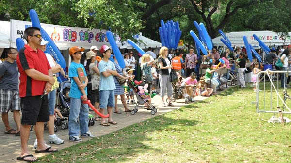 "<div class=""meta ""><span class=""caption-text "">There's fun, games and entertainment for people of all ages at the nation's largest children's festival, right here in Houston! (KTRK Photo/ Kristy Gillentine)</span></div>"