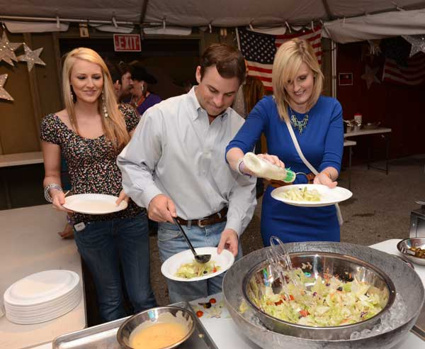 The Houston Livestock Show and Rodeo&#39;s three-day BBQ cookoff kicked off Thursday, and about 300 teams are producing some incredible barbecue for rodeo goers and the chance to be named the winner of the World&#39;s Championship Bar-B-Que Contest. <span class=meta>(John Mizwa, KTRK Photographer)</span>