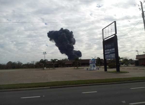 "<div class=""meta ""><span class=""caption-text "">These are photos viewers have sent in from today's fire at the Marathon plant in Texas City.  If you have photos or videos, email them to us at news@abc13.com</span></div>"